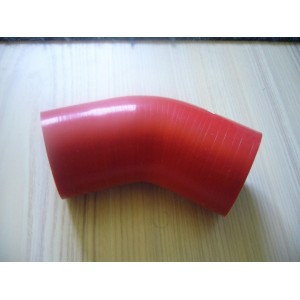 Coude 45° 55mm Rouge
