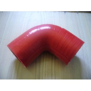 Coude 90° 55mm Rouge